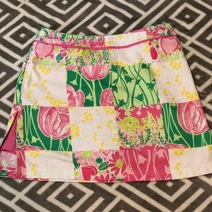 Vintage Lilly Pulitzer skirt size 6